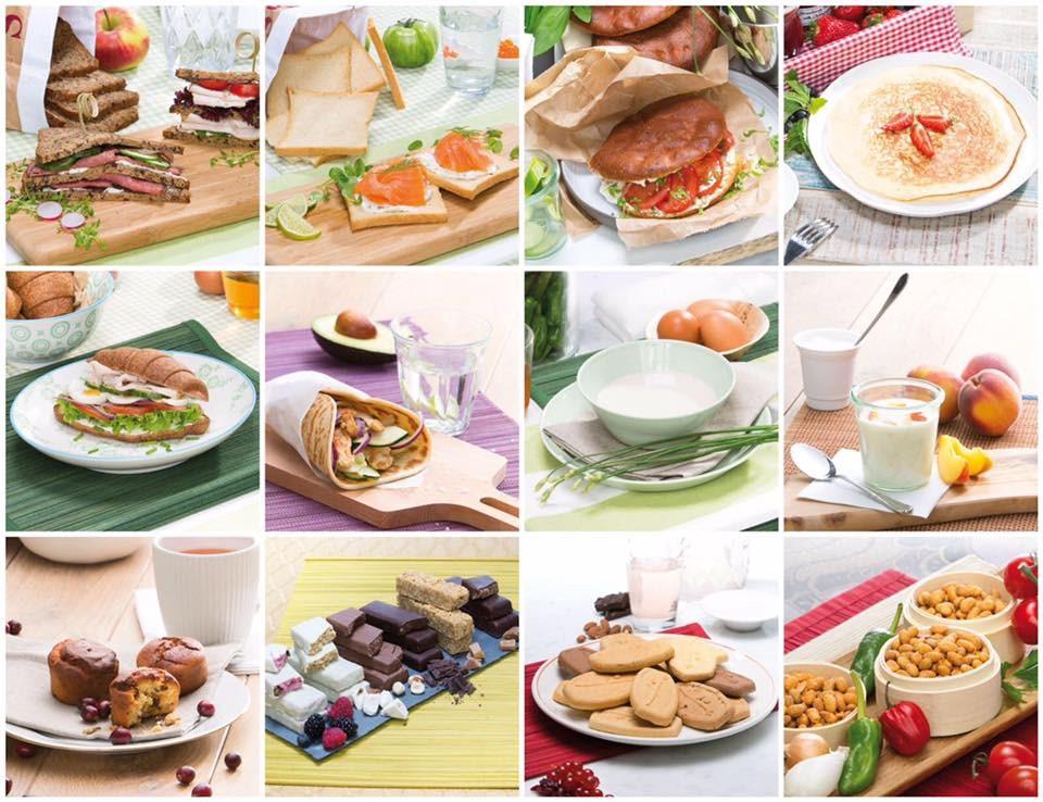 Powerslim overzicht maaltijden